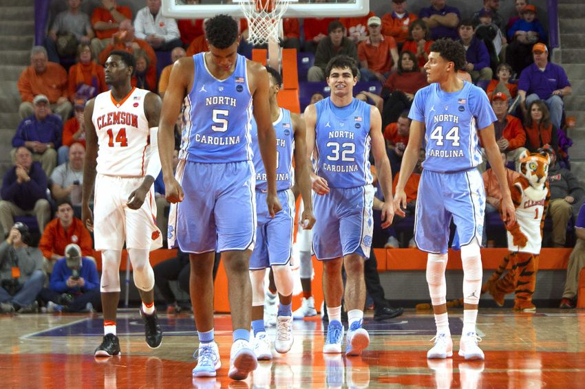NCAA Basketball: North Carolina at Clemson